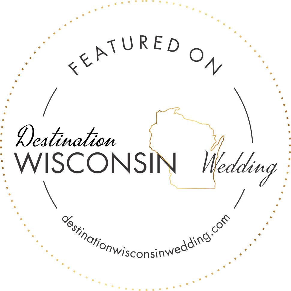 Emma Mullins Photography featured on Destination Wisconsin Wedding blog