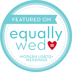 Chicago wedding photographer Emma Mullins Photography featured on Equally Wed