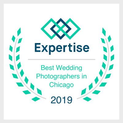 Emma Mullins Photography named one of the Best Wedding Photographers in Chicago by Expertise.com in 2019